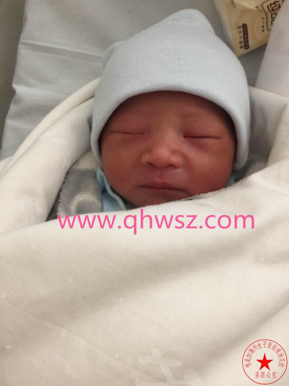 塞班岛生子案例宝宝出生照