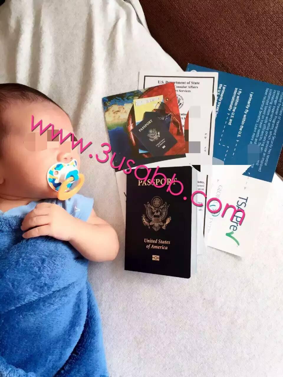 美国生子客户晒宝宝可爱照