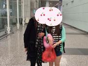 北京加拿大生子客户X姐顺利通关入境