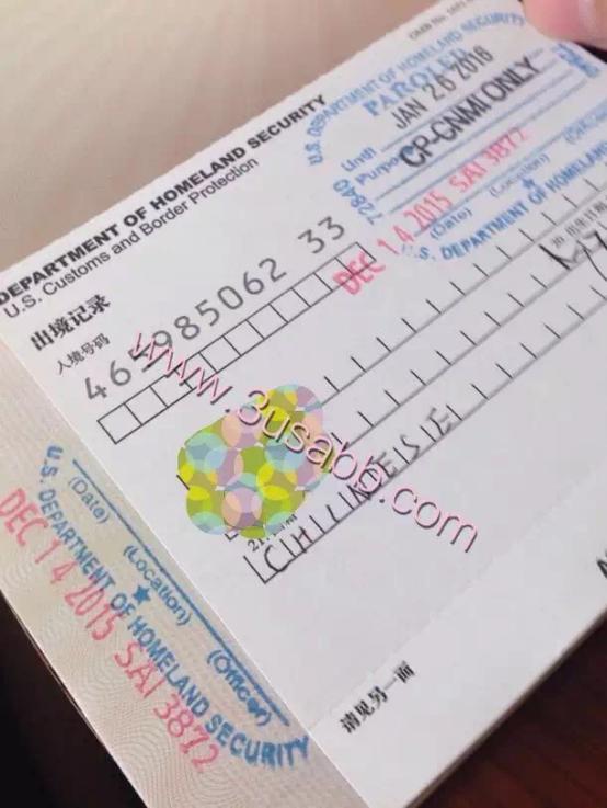 塞班岛生子客户visa照