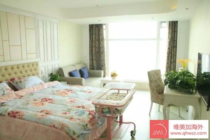 唯美加海外美国生子中心卧室实拍照