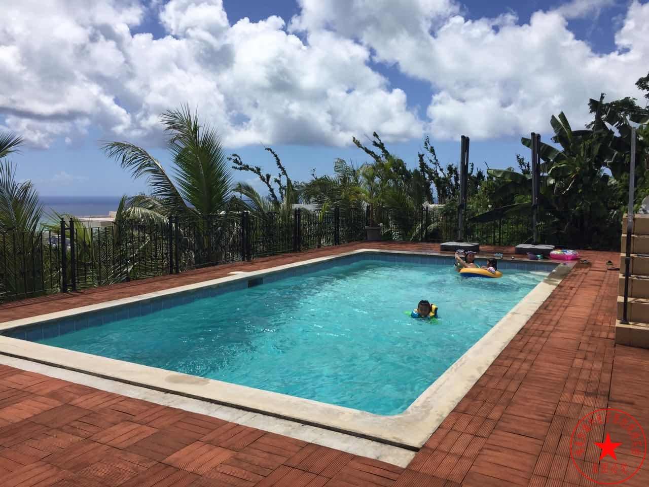 塞班岛生子中心游泳池图